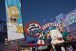The Simpsons Ride at Universal Studios Hollywood, Los Angeles, CA, USA