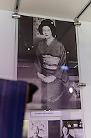 A photo of Rita Taketsuru displayed in the The Auld Kirk Museum, Kirkintilloch, UK, East Dunbartonshire, June 24, 2014. Rita Taketsuru was the Scottish wife of the founder of Nikka Whisky, Masataka Taketsuru. She was born in Kirkintilloch, near Glasgow, Scotland.