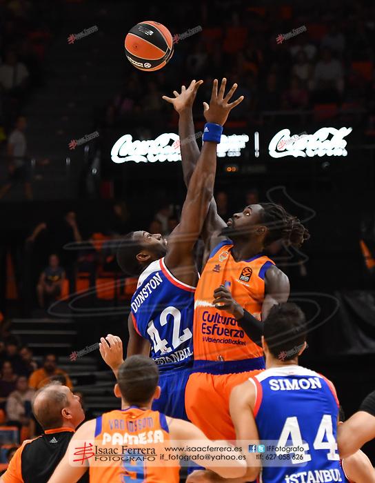 Euroleague 19-20<br /> Valencia Basket 78 - 83 Anadolu Efes SK<br /> Fuente de San Luis Pavillion<br /> Valencia - Spain<br /> 2019, october 18.