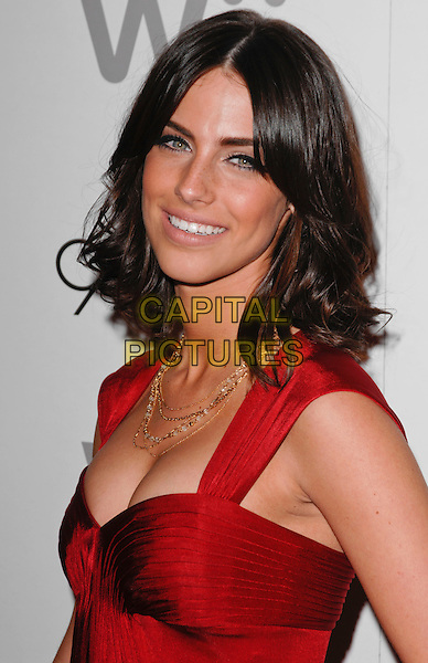 "JESSICA LOWNDES .Arriving at the ""90210"" Season One Wrap Party at Coco De Ville in West Hollywood, California, USA, .March 21st 2009..portrait headshot red gold necklaces .CAP/ROT.©Lee Roth/Roth Stock/Capital Pictures."