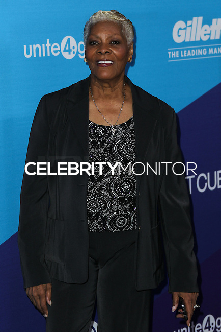 CULVER CITY, LOS ANGELES, CA, USA - FEBRUARY 27: Dionne Warwick at the 1st Annual unite4:humanity Presented by unite4:good and Variety held at Sony Pictures Studios on February 27, 2014 in Culver City, Los Angeles, California, United States. (Photo by Xavier Collin/Celebrity Monitor)