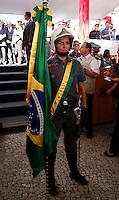 SAO PAULO, SP, 09 DE MARCO DE 2012 - SOLENIDADE DIA DO BOMBEIRO - O governador do Estado de Sao Paulo, durante Solenidade comemorativa ao Dia do Bombeiro Brasileiro, na Praca da Se na regiao central da capital paulista, nesta sexta-feira, 09. (FOTO: VANESSA CARVALHO / BRAZIL PHOTO PRESS).