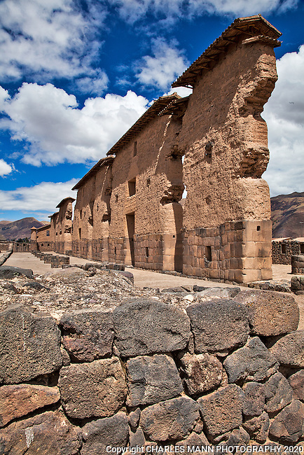 The village of Racchi, on the road between, Cuzco and Puno, hosts the namesake Racchi Ruins which are the remnant of an Inca temple called the Temple of the God Wiracocha. The main temple ruin features adobe and stonework walls along with Inca water works that are still functioning perfectly to this day.