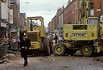 Toxteth Liverpool Lancashire after the Riots 1981.
