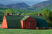 Barn on dairy farm<br />