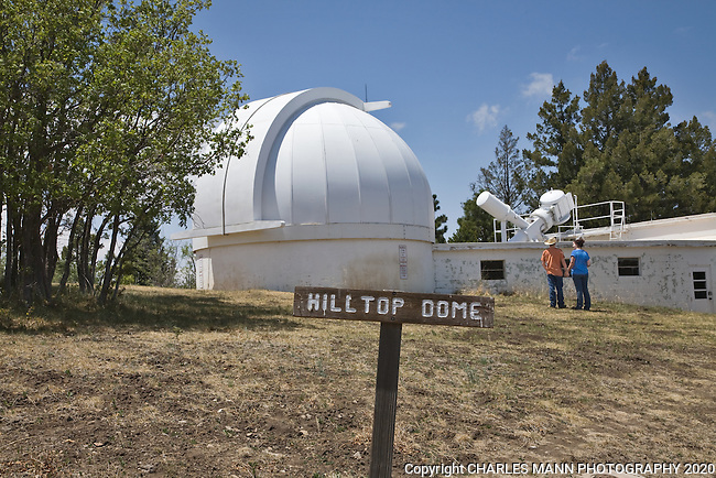 The Hilltop Dome is one of several features that visitors can see up close at the National Solar Observatory in Sunspot near Cloudcroft, New Mexico.