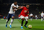 Manchester United's Fred (R) battles for the ball with Tottenham Hotspur's Serge Aurier during the Premier League match at Old Trafford, Manchester. Picture date: 4th December 2019. Picture credit should read: Darren Staples/Sportimage