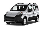 2017 Citroen Nemo  base 5 Door Mini Van angular front stock photos of front three quarter view