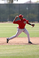 Antonio Sepulveda, Arizona Diamondbacks 2010 minor league spring training..Photo by:  Bill Mitchell/Four Seam Images.