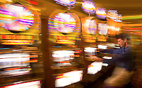 Slot Machines at the Showboat Mardi Gras Casino, Atlantic City, New Jersey
