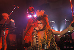 Martin Degville lead singer in the 1980s punk rock band Sigue Sigue Sputnik. Newcastle upon Tyne.