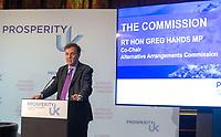 Alternative arrangements for the Irish Border Launch-Prosperity UK