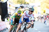 Picture by Alex Whitehead/SWpix.com - 28/09/2018 - Cycling 2018 Road Cycling World Championships Innsbruck-Tirol, Austria - Mens U23 Road Race - Mark Donovan of Great Britain.