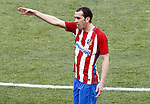 Atletico de Madrid's Diego Godin during La Liga match. March 19,2017. (ALTERPHOTOS/Acero)