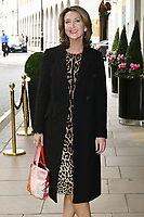 Victoria Derbyshire<br /> Future Dreams Ladies Lunch, United for Her, Breast cancer charity's annual lunch to raise funds for further research and new treatments. Held at The Savoy Hotel, London, England on October 09, 2017.<br /> CAP/JOR<br /> &copy;JOR/Capital Pictures