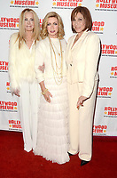 """LOS ANGELES - JAN 18:  Joan Van Ark, Donna Mills, Michele Lee at the 40th Anniversary of """"Knots Landing"""" Exhibit at the Hollywood Museum on January 18, 2020 in Los Angeles, CA"""