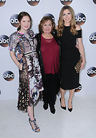08 January 2018 - Pasadena, California - Emma Kenney, Rosanne Barr, Sarah Chalke. 2018 Disney ABC Winter Press Tour held at The Langham Huntington in Pasadena. <br /> CAP/ADM/BT<br /> &copy;BT/ADM/Capital Pictures