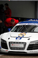 Real Madrid Player Karim Benzema and recives new Audi during the presentation of Real Madrid's new cars made by Audi at the Jarama racetrack on November 8, 2012 in Madrid, Spain.(ALTERPHOTOS/Harry S. Stamper) .<br /> &copy;NortePhoto