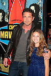 LOS ANGELES - OCT 18: Gerard Butler, Maya Raines at the 'Chasing Mavericks' - Los Angeles Premiere at Pacific Theaters at the Grove on October 18, 2012 in Los Angeles, California
