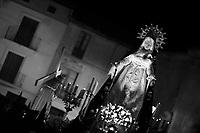 Martes Santo en Peñafiel, procesión del Encuentro