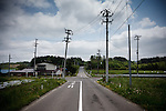 iitate, May 31 2011 - .(eng) An empty crossing in Iitate, largest village to evacuate before the end of May 2011..(fr) Un croisement vide a Iitate, le plus gros des cinq villages a evacuer avant la fin mai 2011.