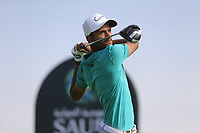 Saud Al Sharif (AM) (KSA) on the 6th tee during the 1st round of  the Saudi International powered by Softbank Investment Advisers, Royal Greens G&CC, King Abdullah Economic City,  Saudi Arabia. 30/01/2020<br /> Picture: Golffile | Fran Caffrey<br /> <br /> <br /> All photo usage must carry mandatory copyright credit (© Golffile | Fran Caffrey)