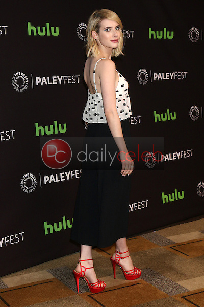 """Emma Roberts<br /> at """"Scream Queens"""" at the 33rd Annual PaleyFest Los Angeles, Dolby Theater, Hollywood, CA 03-12-16<br /> David Edwards/DailyCeleb.com 818-249-4998"""