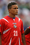 10 June 2007: Panama's Amitcar Henriquez. The Panama and Cuba Men's National Teams tied 2-2 at Giants Stadium in East Rutherford, New Jersey in a first round game in the 2007 CONCACAF Gold Cup.
