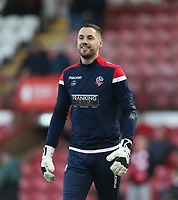 Bolton Wanderers' Remi Matthews<br /> <br /> Photographer Rob Newell/CameraSport<br /> <br /> The EFL Sky Bet Championship - Brentford v Bolton Wanderers - Saturday 22nd December 2018 - Griffin Park - Brentford<br /> <br /> World Copyright © 2018 CameraSport. All rights reserved. 43 Linden Ave. Countesthorpe. Leicester. England. LE8 5PG - Tel: +44 (0) 116 277 4147 - admin@camerasport.com - www.camerasport.com