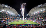 The closing ceremony of the HSBC Hong Kong Rugby Sevens 2018 on 08 April 2018, in Hong Kong, Hong Kong. Photo by Chung Yan Man / Power Sport Images