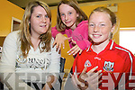 SUMMER CAMP: Having their nails done at the Camp Summer Camp last week were Laura Deane (Camp Youth Club), Holly Deakin and Caitriona Godsil.   Copyright Kerry's Eye 2008