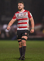 Gloucester's Ruan Ackermann<br /> <br /> Photographer Bob Bradford/CameraSport<br /> <br /> European Rugby Heineken Champions Cup Group E - Gloucester v Montpellier Herault Rugby - Saturday 11th January 2020 - Kingsholm Stadium - Gloucester<br /> <br /> World Copyright © 2019 CameraSport. All rights reserved. 43 Linden Ave. Countesthorpe. Leicester. England. LE8 5PG - Tel: +44 (0) 116 277 4147 - admin@camerasport.com - www.camerasport.com