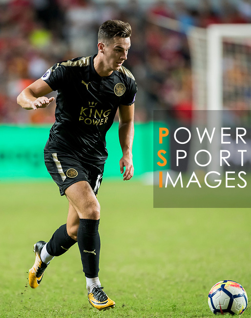 Leicester City FC forward Tom Lawrence in action during the Premier League Asia Trophy match between Liverpool FC and Leicester City FC at Hong Kong Stadium on 22 July 2017, in Hong Kong, China. Photo by Weixiang Lim / Power Sport Images