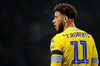 Leeds United's Tyler Roberts in action<br /> <br /> Photographer David Shipman/CameraSport<br /> <br /> The EFL Sky Bet Championship - West Bromwich Albion v Leeds United - Saturday 10th November 2018 - The Hawthorns - West Bromwich<br /> <br /> World Copyright &copy; 2018 CameraSport. All rights reserved. 43 Linden Ave. Countesthorpe. Leicester. England. LE8 5PG - Tel: +44 (0) 116 277 4147 - admin@camerasport.com - www.camerasport.com