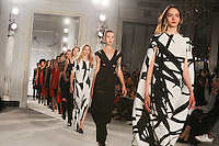 Catwalk<br /> at the Jasper Conran AW17 show as part of London Fashion Week AW17 at Claridges, London.<br /> <br /> <br /> &copy;Ash Knotek  D3230  17/02/2017