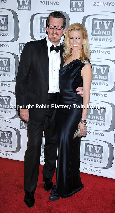 Simon Van Kempen and wife Alex McCord  attending The TV Land Awards 2011 .on April 10, 2011 at the Jacob Javits Center in New York City.
