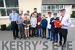 This is your life 6th class pupils act out some famous people as Principal John McAuliffe of LIXNAW Boys School, retires. Pictured l-r Fr. Brick, Darren O Brien, Henry Molyneaux, Micheal Nolan,Darragh Connolly, Christopher O'Sullivan, Cian McMahon, Paul Galvin, Even Kelliher, Kelton Malloy, William McMahon