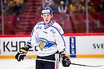 Stockholm 2014-05-03 Ishockey Oddset Hockey Games  Sverige - Finland :  <br /> Finlands Atte Ohtamaa <br /> (Foto: Kenta J&ouml;nsson) Nyckelord:  Oddset Hockey Games Sverige Swe Tre Kronor Finland Fin Globen Ericsson Globe Arena portr&auml;tt portrait
