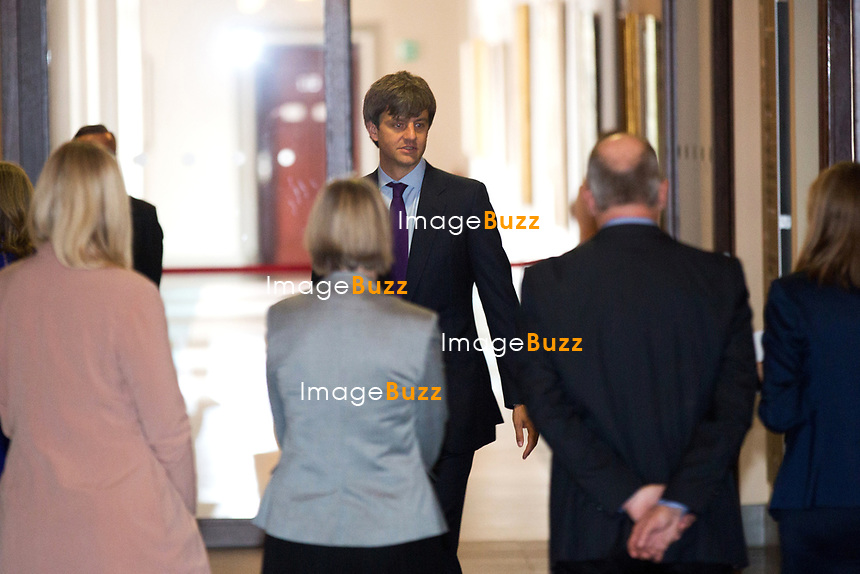 Mariage civil du Prince Ernst junior de Hanovre et de Ekaterina Malysheva, &agrave; l' h&ocirc;tel de ville de Hanovre.<br /> Allemagne, Hanovre, 6 juillet 2017.<br /> Civil wedding of Prince Ernst Junior of Hanover and Ekaterina Malysheva at the new Town Hall in Hannover.<br /> Germany, Hanover, 6 july 2017<br /> Pic : Prince Ernst Junior of Hanover