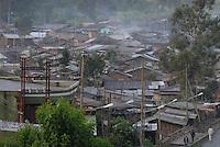Addis Abeba, panorama sulla bidonville
