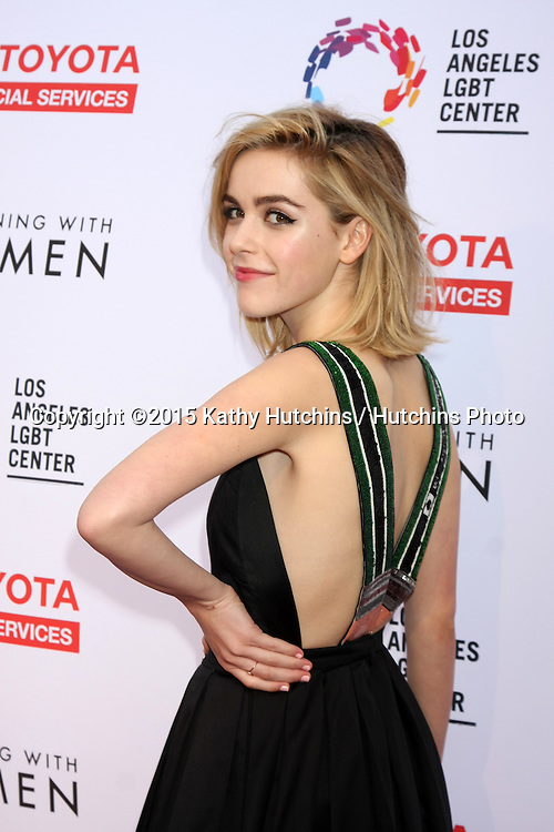 "LOS ANGELES - MAY 16:  Kiernan Shipka at the ""An Evening with Women"" Benefitting LA LGBT Center at the Palladium on May 16, 2015 in Los Angeles, CA"