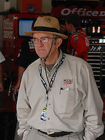 Feb 10, 2007; Daytona, FL, USA; Nascar Nextel Cup team owner Jack Roush during the Budweiser Shootout at Daytona International Speedway. Mandatory Credit: Mark J. Rebilas