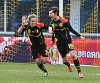 2013.03.07 U17 Denmark - Belgium