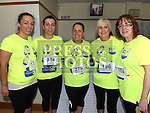 Amanda Carry, Bernie Campbell, Dolores Minogue, Margaret Finlay and Dymphna Conlon who took part in the Seamie Weldon 5K Run in Ardee. Photo:Colin Bell/pressphotos.ie