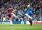 Rangers v St Johnstone&hellip;16.02.19&hellip;   Ibrox    SPFL<br />Matty Kennedy volleys over the bar<br />Picture by Graeme Hart. <br />Copyright Perthshire Picture Agency<br />Tel: 01738 623350  Mobile: 07990 594431