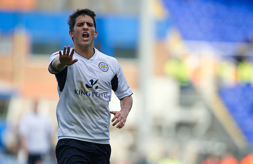 Leicester City's Anthony Knockaert ..Football - npower Football League Championship - Birmingham City v Leicester City - Saturday 20th October 2012 - St Andrews - Birmingham..