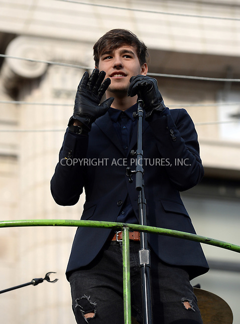 www.acepixs.com<br /> <br /> November 24 2016, New York City<br /> <br /> Jacob Whitesides made an appearance at the 90th Annual Macy's Thanksgiving Day Parade on November 24, 2016 in New York City.<br /> <br /> By Line: Kristin Callahan/ACE Pictures<br /> <br /> <br /> ACE Pictures Inc<br /> Tel: 6467670430<br /> Email: info@acepixs.com<br /> www.acepixs.com