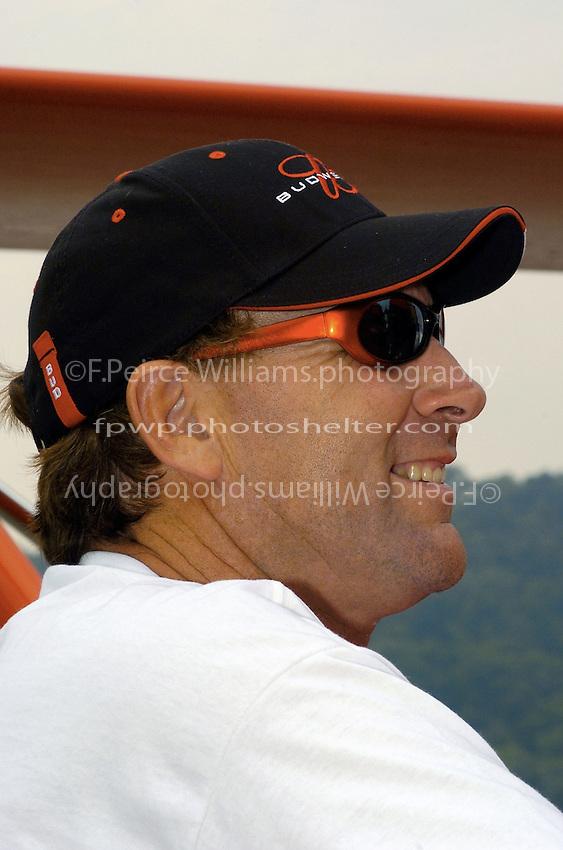 "Dave Villwock..Dave Villwock, U-1 ""Miss Budweiser""..2004 Madison Regatta, Madison, Indiana, July 4, 2004"