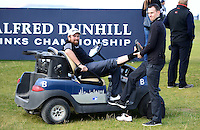 Shane Lowry of Ireland receives treatment during Round 3 of the 2015 Alfred Dunhill Links Championship at the Old Course, St Andrews, in Fife, Scotland on 3/10/15.<br /> Picture: Richard Martin-Roberts | Golffile