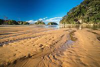 Kaiteriteri Beach, Tasman Bay, New Zealand - stock photo, canvas, fine art print